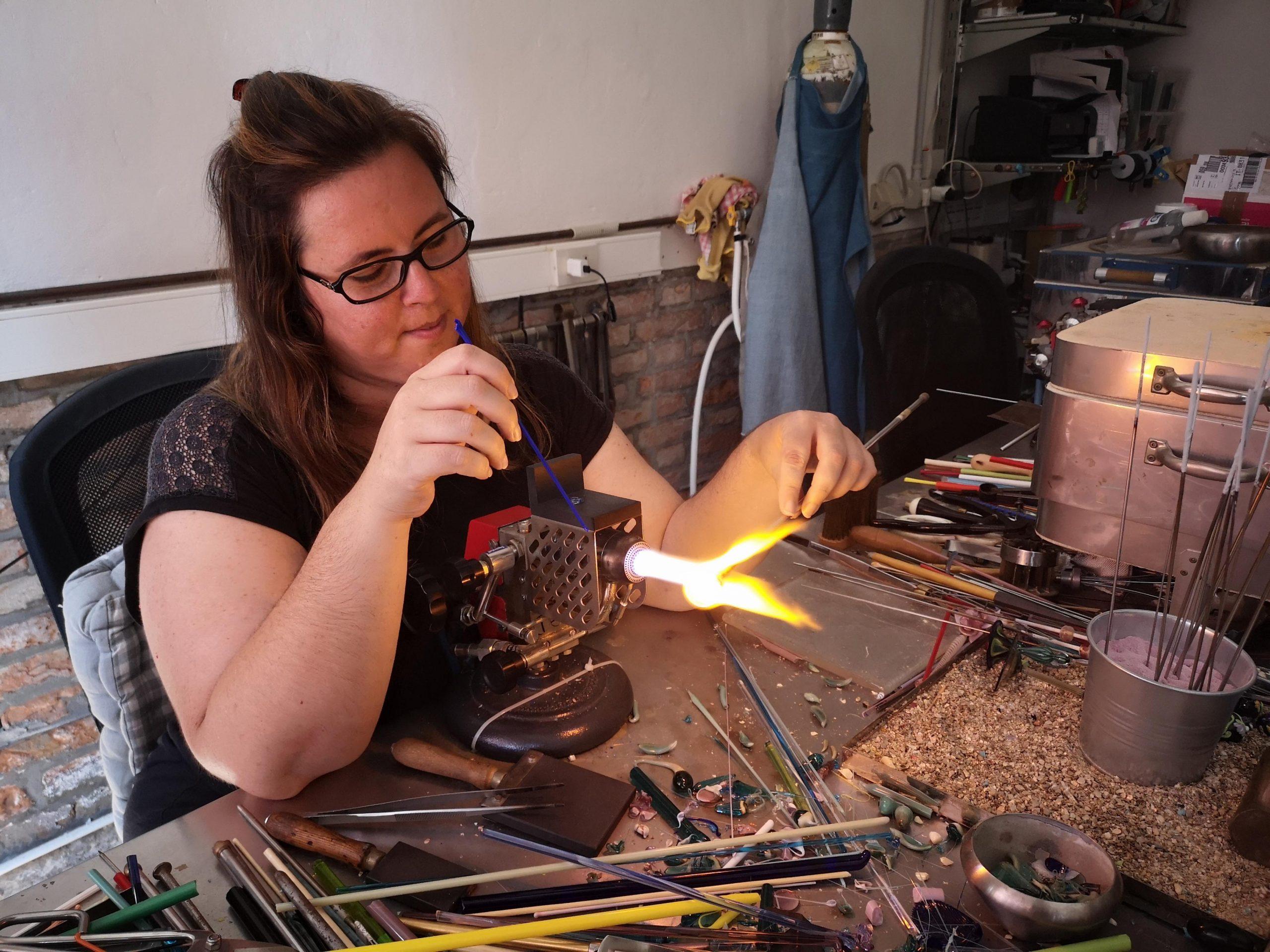 alessia fuga murano glass beadmaker